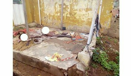 A Suspected Ritualists Kills Mad Woman, Chops Off Her Internal Organs (Graphic Photo)