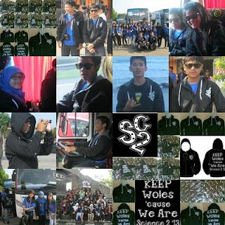 Hoodie (Sweater Kupluk) Science Two SMU 8 Bogor Tour Yogyakarta