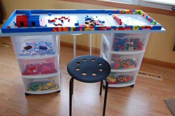 5 Awesome DIY Lego Tables for Kids