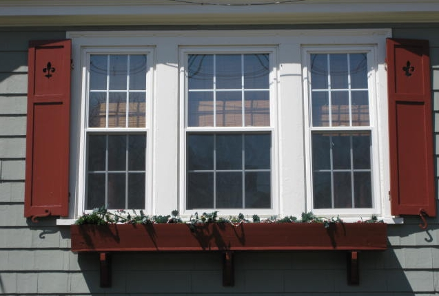 Wood window shutters advice on painting wood shutters - Best spray paint for exterior shutters ...