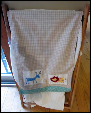 before pic of baby laundry hamper