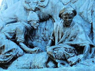 Homens Produzem Cereais e Charque - Monumento La Patria al Ejército de los Andes, Parque General San Martín, Mendoza