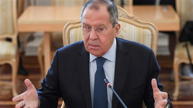 Damascus should take control over northeast Syria: Russian Foreign Minister Sergei Lavrov