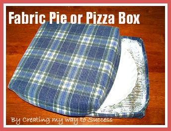 Creating my way to success fabric pizza or pie box for Space pizza fabric