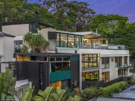 the property set to be Brisbane most expensive house