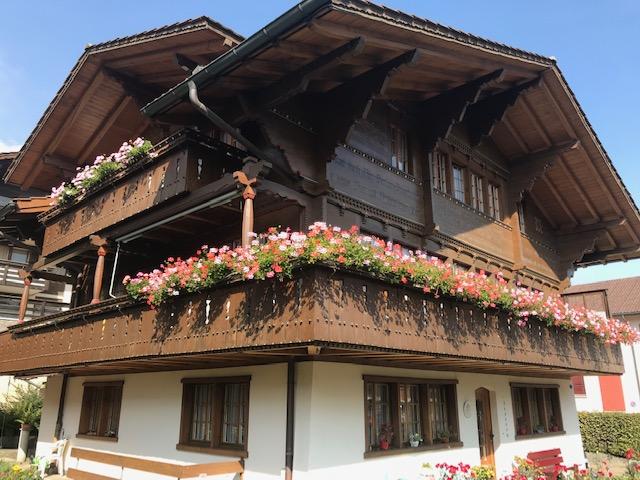 スイス・フルーティゲンの町