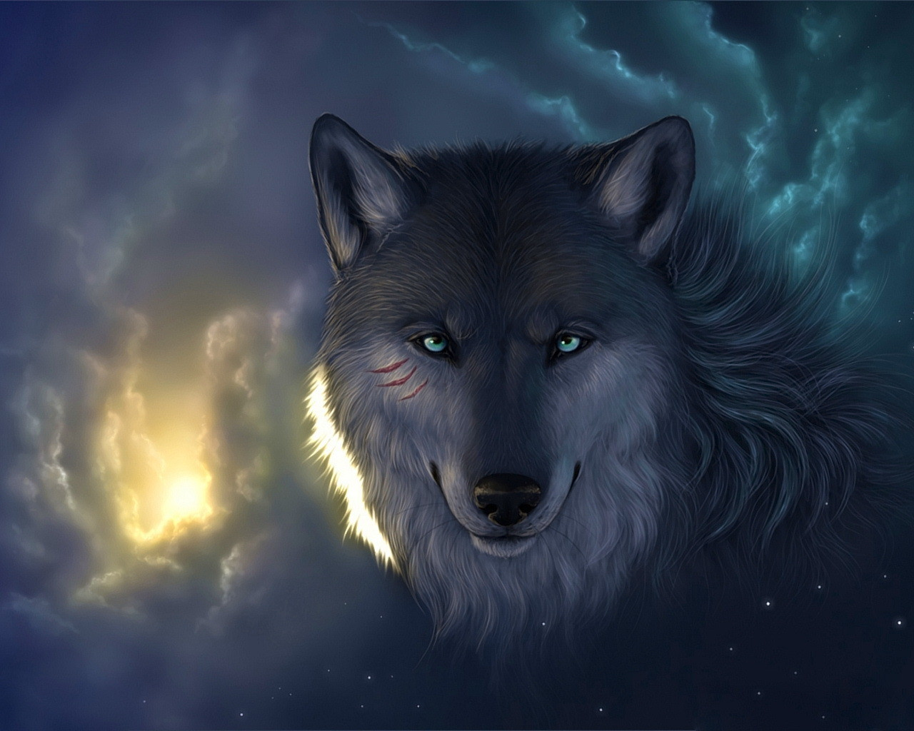 Free Wallpaper Images Desktop With A Wolf Wallpaper