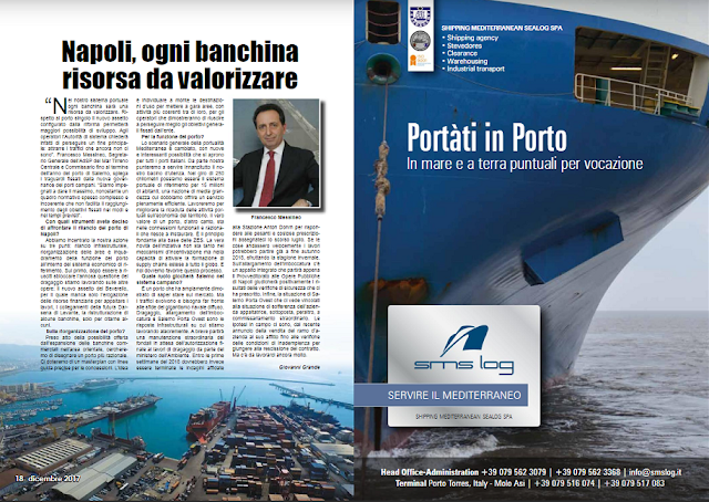DIC 2017 PAG 17 - Napoli, ogni banchina risorsa da valorizzare (Francesco Messineo)