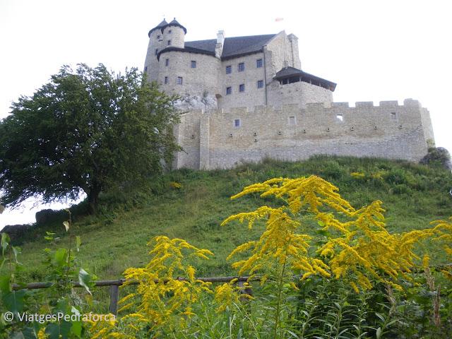 Zamek Bobolice, Ruta dels Nius d'Àguila, Polonia medieval, castells medievals, castells encantats, fantasmes