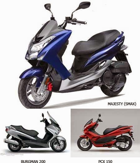 Suzuki Burgman Vs Honda Pcx