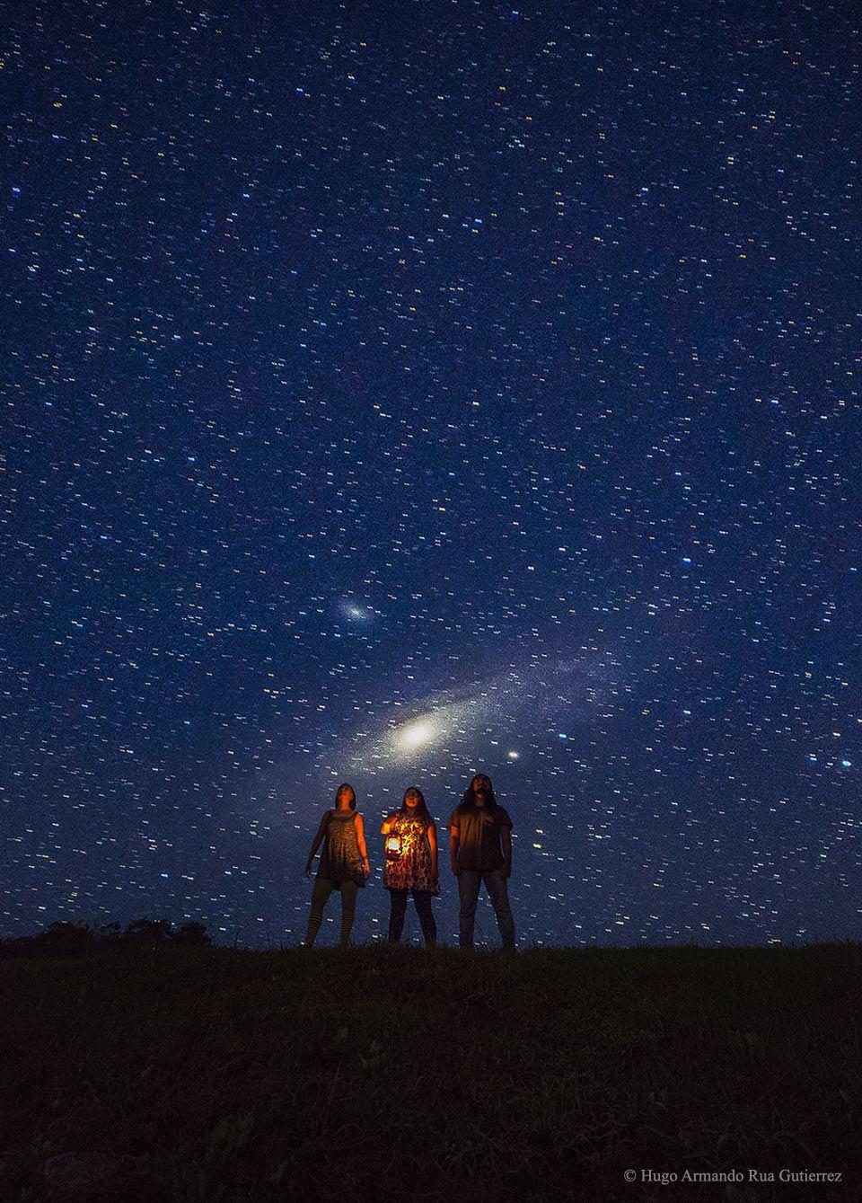 La vecina más notoria de la Vía Láctea, Andrómeda