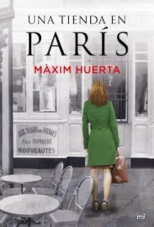"""""""Una tienda en París"""" de Maxim Huerta"""