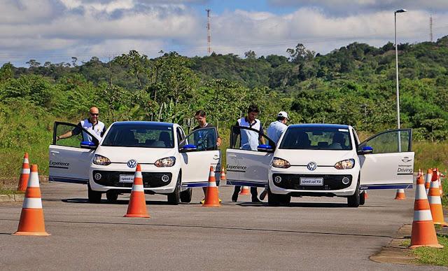 Salão do Automóvel São Paulo 2016 - teste drive Volkswagen