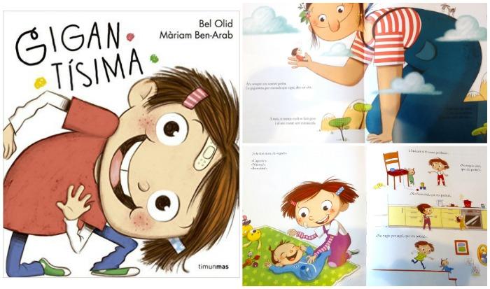 10 cuentos para preparar la llegada de un bebé y tratar primeros celos hermano: libro Gigantísima
