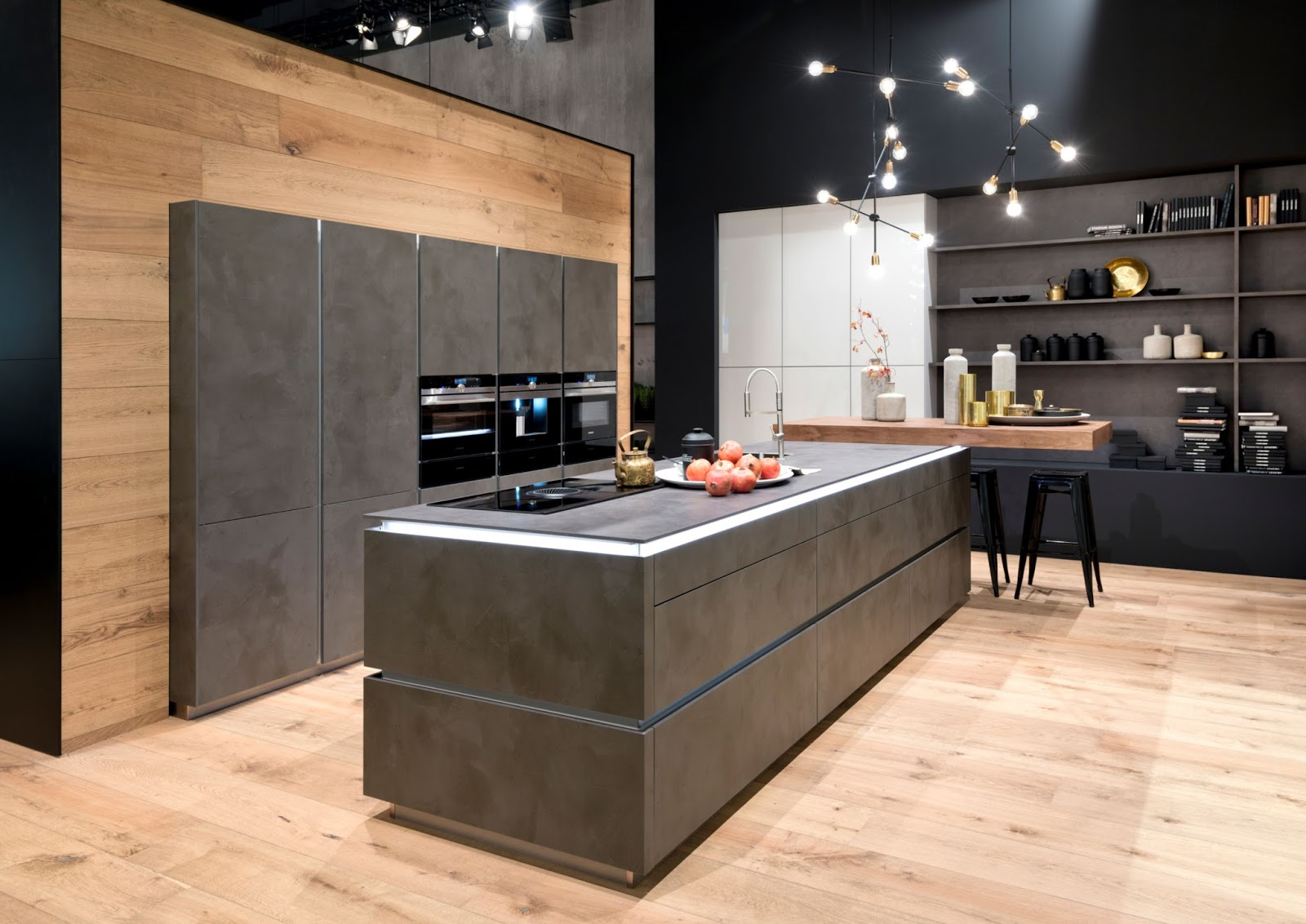 nolte india nolte kitchen the highlight at the imm. Black Bedroom Furniture Sets. Home Design Ideas