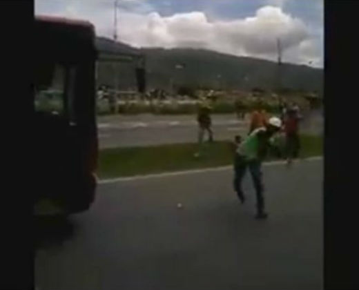 ¡Robados y maltratados! El relato de uno de los participantes de la Toma de Caracas (+Video)