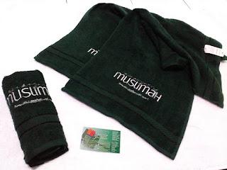 Handuk Bordir Nama Salon Kecantikan Muslimah