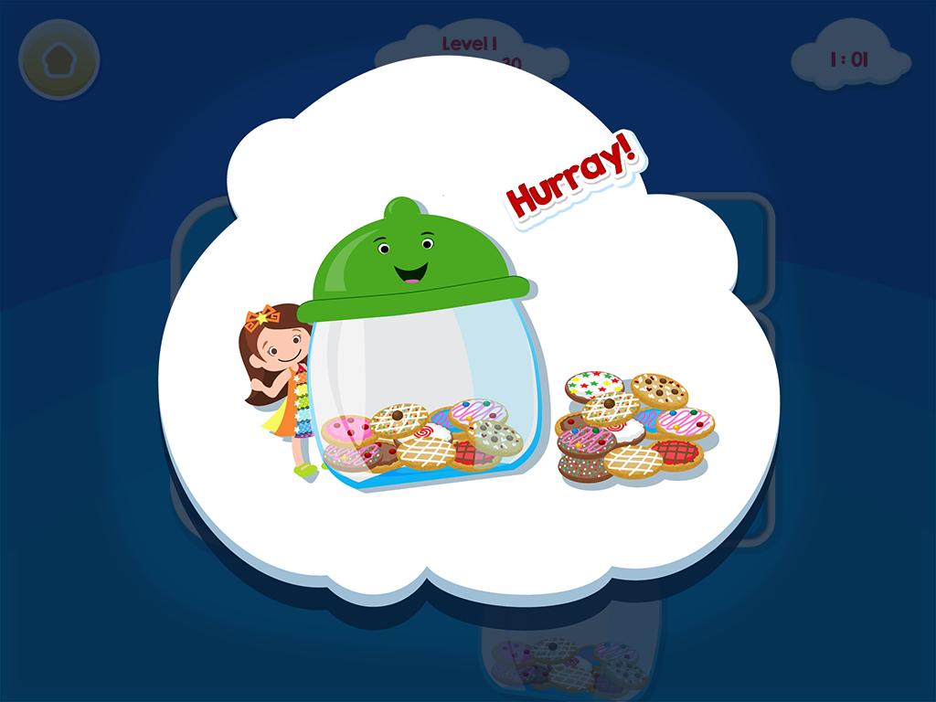 Smart Cookie Math App - Addition & Subtraction App