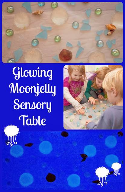 Night of the Moonjellies Sensory Table