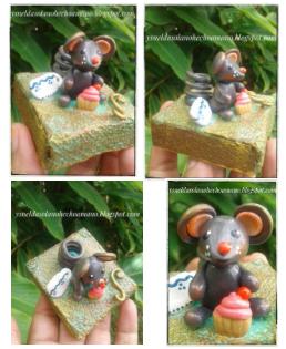 Cómo-hacer-Ratón-Portalápiz-en-porcelana-fría