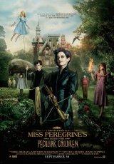 """Carátula del DVD: """"El hogar de Miss Peregrine para niños peculiares"""""""