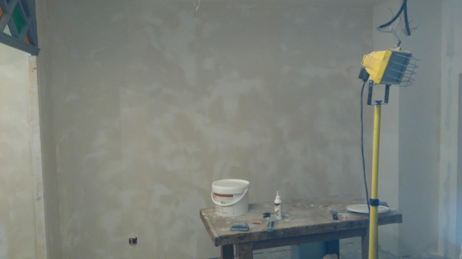 la maison de salvagnac cr pi mur de la chambre au r 1. Black Bedroom Furniture Sets. Home Design Ideas