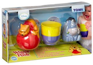 TOMY toys, TOMY Winnie the Pooh Squirt n Pour Bathtime Fun, TOMY bath toys