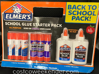 Let your child put art projects together for school with the Elmer's Glue School Starter Pack