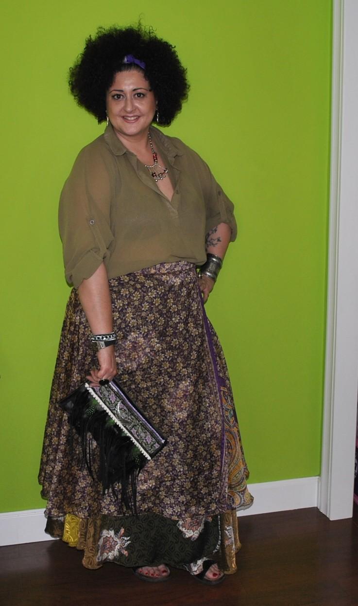 d1cbbb301 Look maxi falda india   Diy & glam