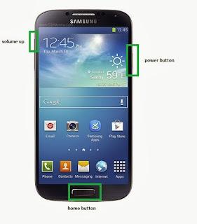 Cara Flash 3 Jari Samsung Galaxy ( Kembali Kepengaturan Pabrik )