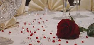 Diamond Confetti Table Decoration