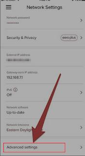 Cara Mengatur Alamat IP Statis pada Eero Router