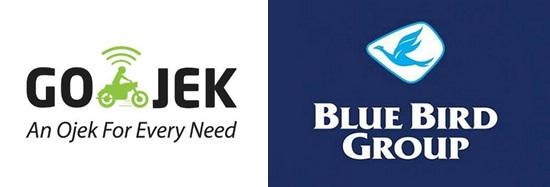 kerjasama bluebird gojek, gojek bluebird, gojek blue bird, gojek bluebird