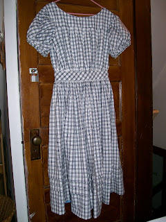 Girl's yoked dress from Sewing Academy (Historic Moments) pattern.
