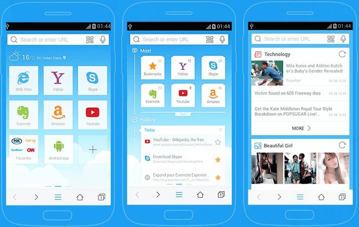 Aplikasi Browser Android Terbaik dan Tercepat
