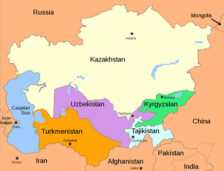 Central Asia after 1991