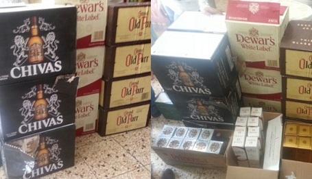 San Juan: Arrestan hombre contrabando cigarrillos y whisky
