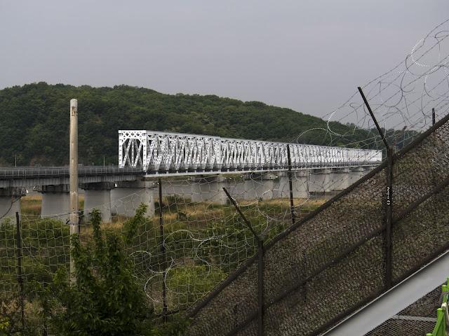 Imjingak Freedom Bridge in the DMZ in South Korea