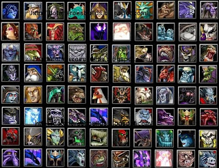 DOTA HEROES ITEM BUILDS