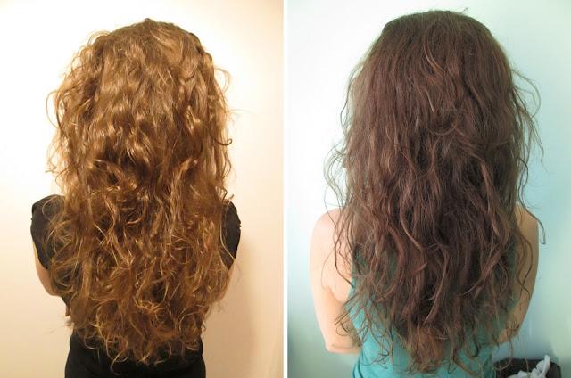 włosy przed