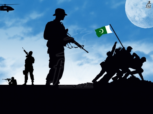 Download Popular Wallpapers 5 Stars: Pakistan Army