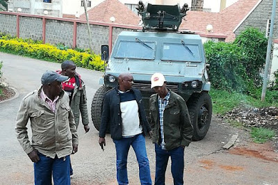 MP Simba Arati home Police undersiege. PHOTO | FILE