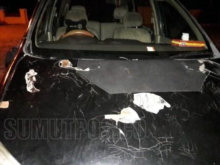 Tangkap Bandar Sabu, Ratusan Massa Rusak Mobil Polisi