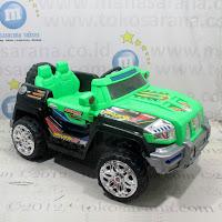 mobil mainan aki pmb jeep