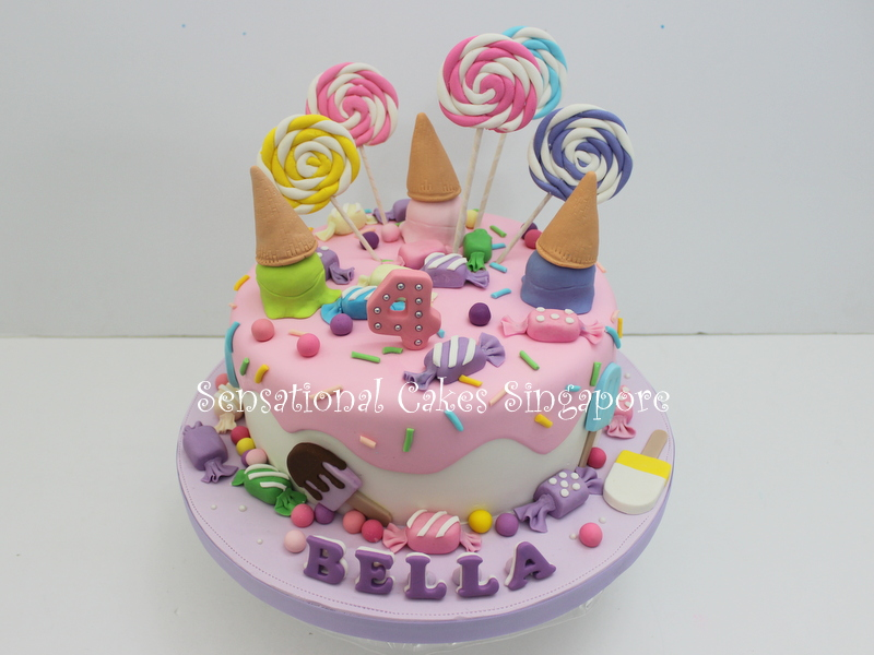 the sensational cakes 3d ice cream crafted cake bespoke cake
