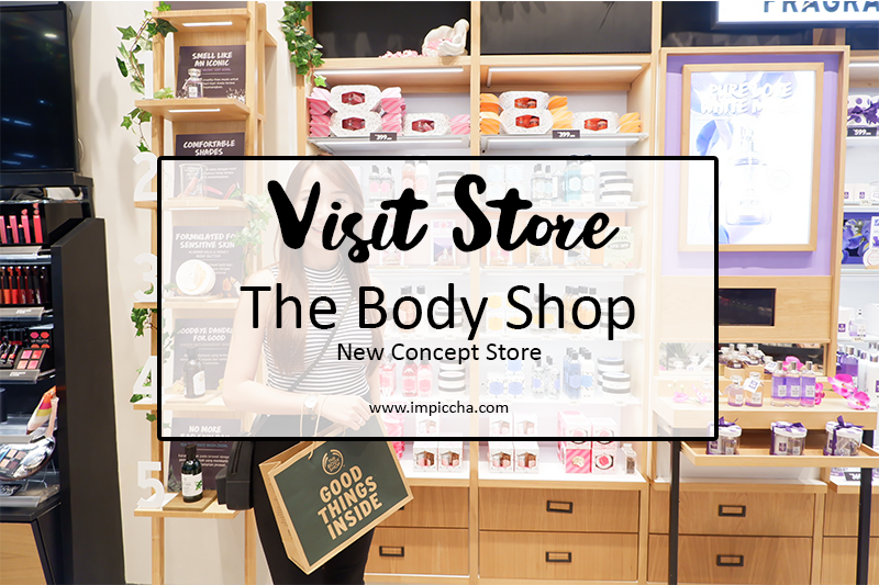 The Body Shop New Concept Store PVJ Bandung