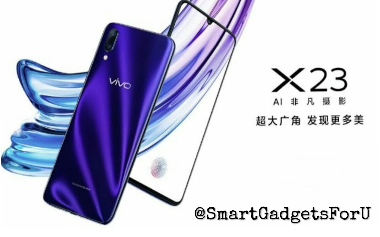 Vivo X23 8 GB RAM and launch with a big display: know about its price, specifications, and features.