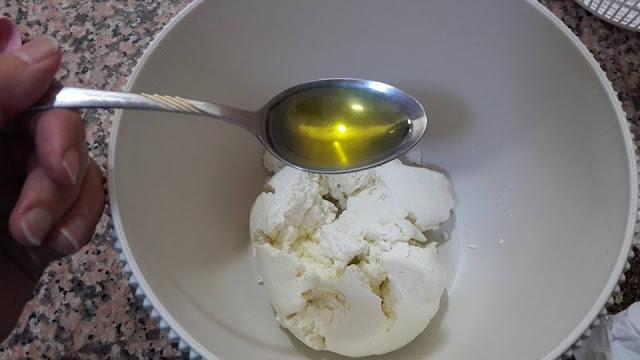 الزيت والجبن