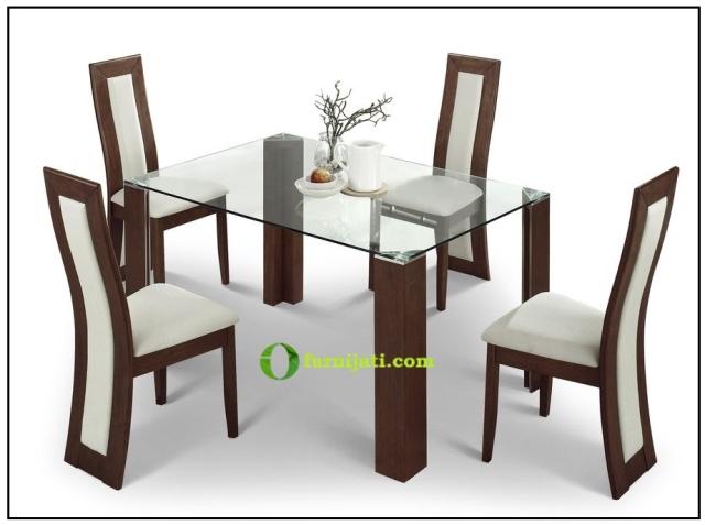 harga meja makan kayu jati minimalis