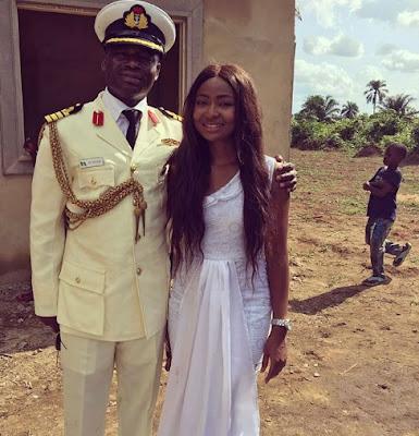 belinda effah navy captain brother